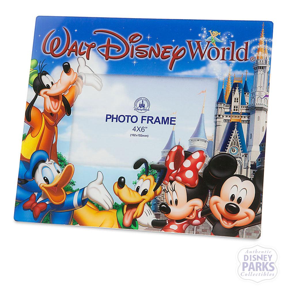 Disney Parks Mickey & Friends Walt Disney World 4 x 6 Picture Frame ...