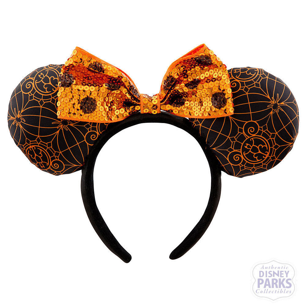 disney parks minnie mouse ear headband halloween