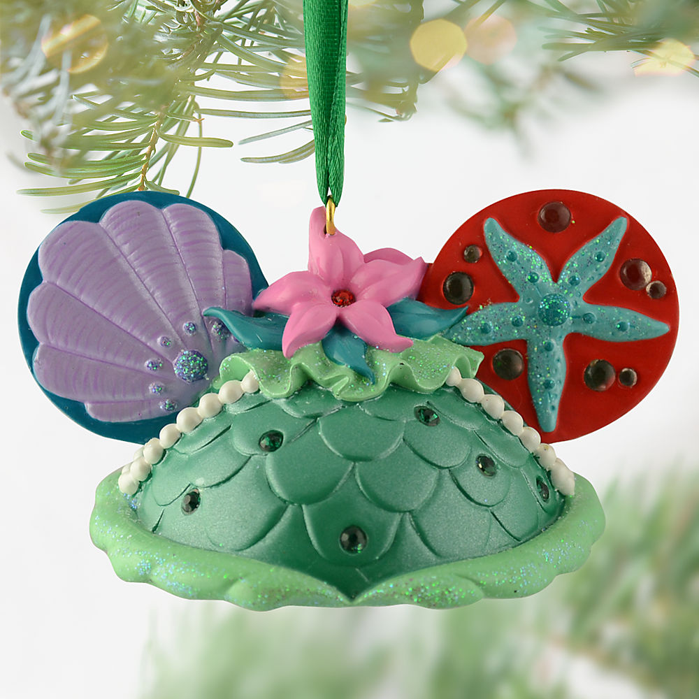 ariel ear hat ornament - Little Mermaid Christmas Ornaments