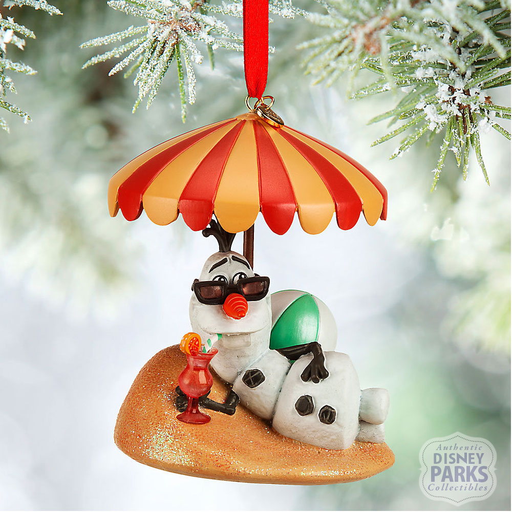 Authentic Disney Parks Collectibles Olaf Sketchbook Ornament Frozen ...