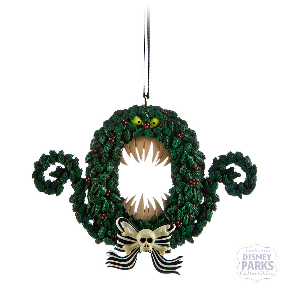 Authentic Disney Parks Nightmare Before Christmas Wreath Ornament ...